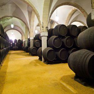 foto solera de Bodegas merito diez Ultimate Sherry tour Square