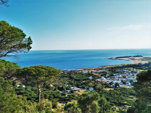 rutas guiadas de senderismo en Cádiz La Breña Natural Park Palomar View point Torre de Meca hiking tours Cadiz