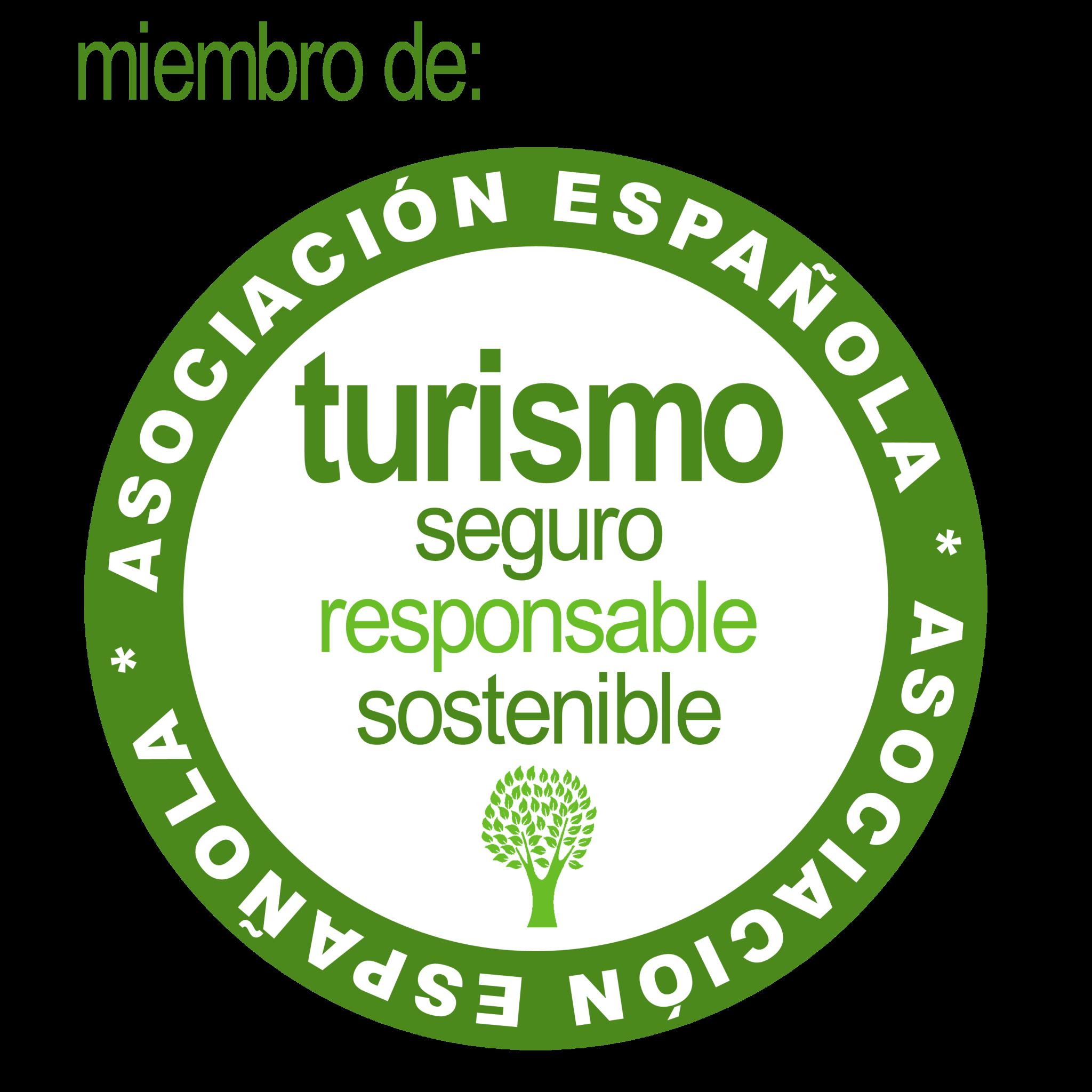 LOGO Responsible tourism green tourism agency Cádiz MIEMBRO FONDO TRANSPARENTE